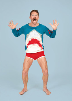 shark sweater