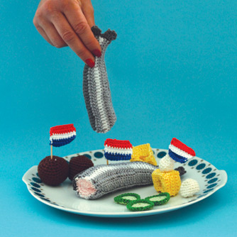 Dutch snacks free crochet pattern